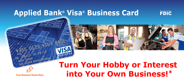 Get your visa business credit card today no deposit required applied bank visa business card colourmoves